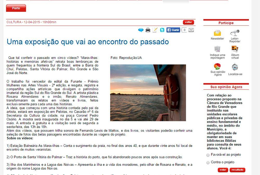 Jornal Agora – 12-04-2015 – São José do Norte