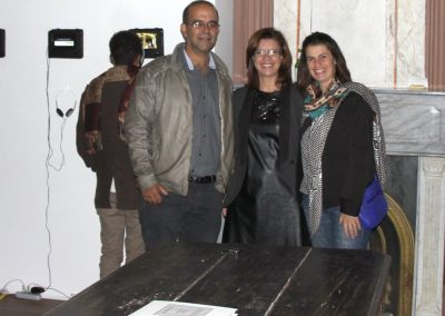 Renato Almendares, Rosana Almendares e Kelly Xavier (Triplex Arte Contemporânea)