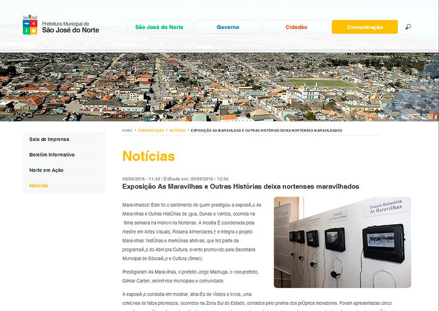 Prefeitura São José do Norte 03-05-2016