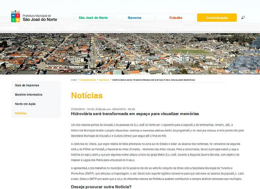Prefeitura São José do Norte 27-04-2016
