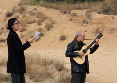 Encontro sobre as areias- Areal RS - Maria Helena Bernardes e Fernando Mattos