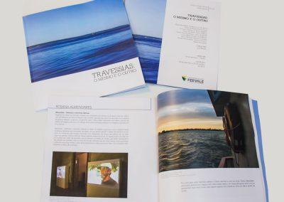 Catálogo da mostra Travessia: O Mesmo e o Outro - Curadoria de Lurdi Blauth - FEEVALE