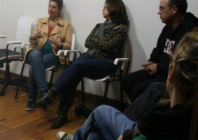 Encontro sobre as areias- Espaço de arte Triplex - Pelotas RS - Kelly Xavier, Rosana Almendares e Renato Almendares