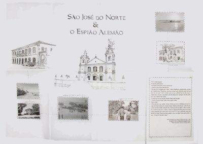 Livros de Artista- São José do Norte e o Espião Alemão