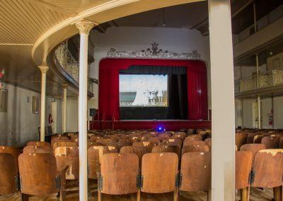 Exposição no Teatro Independência - Santa Vitória do Palamar