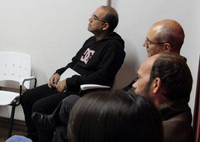 Encontro sobre as areias- Espaço de arte Triplex - Pelotas RS - Renato Almendares e Fernando Mattos