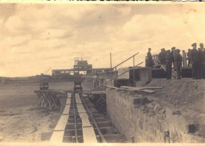 Construção do Porto de Santa Vitória do Palmar - Acervo Sergio Olivera (fotógrafo)
