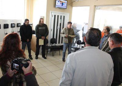 Inauguração da mostra - Foto: Departamento de imprensa Prefeitura de São José do Norte