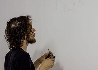 Participação dos alunos do curso de Artes Visuais - Guilherme Nader