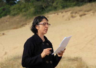 Encontro sobre as areias- Areal RS - Maria Helena Bernardes