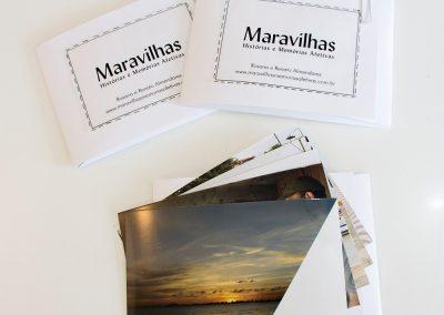Conjunto de fotografias entregues aos colaboradores do projeto