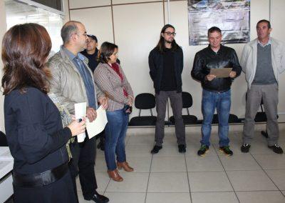 Inauguração da mostra - com a palavra Paulo André de Moraes, Assessor Especial de Promoções.Foto: Departamento de imprensa Prefeitura de São José do Norte