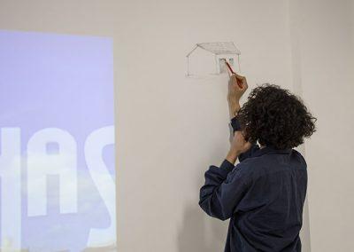 Participação dos alunos do curso de Artes Visuais -  Vinícius Rodrigues