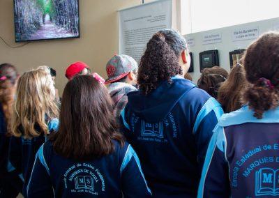 Exposição Projeto Maravilhas - Hidroviária de São José do Norte Visita de alunos da rede municipal