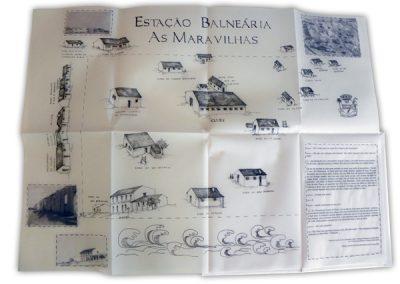 Livro de Artista - Estação Balneária As Maravilhas