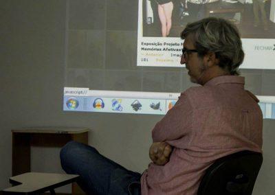 Marcelo Gobatto - Coordenador do curso de Artes Visuais