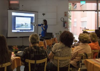 Apresentação do projeto no Bar Lupicinio do Atelier Livre de Porto Alegre - Projeto Café com Arte