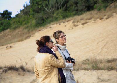 Encontro sobre as areias- Areal RS - Kelly Xavier e Martha Gofre