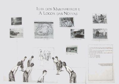 Livro de Artista- Ilha dos Marinheiros e a Lagoa das Noivas
