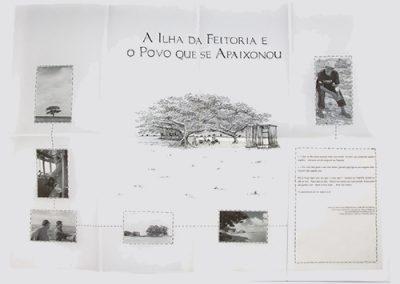 Livro de Artista - A Ilha da Feitoria e o Povo que se Apaixonou