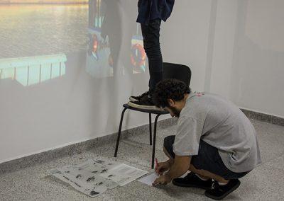 Participação dos alunos do curso de Artes Visuais - Kristopher Machado