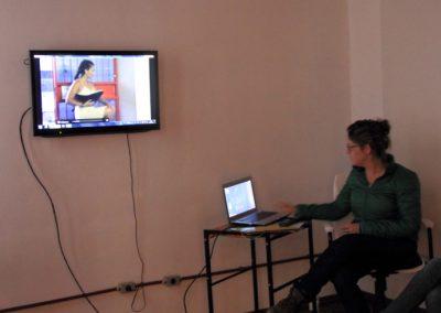Encontro sobre as areias- Espaço de arte Triplex - Pelotas, RS - Martha Gofre