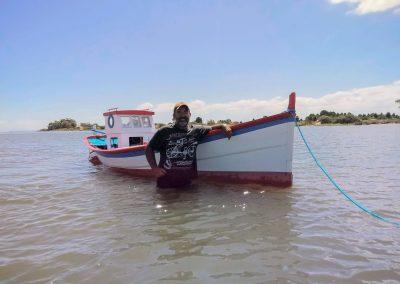 Lagoa dos Patos - São José do Norte - O Barco e o Renato