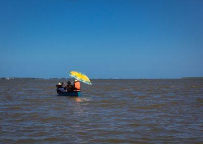 São José do Norte - Lagoa dos Patos - Passeio em família