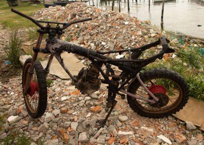 Lagoa dos Patos - São José do Norte - A moto do Jacaré